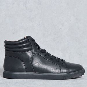 TOPSHOP Cine High Top Sneakers Size 8